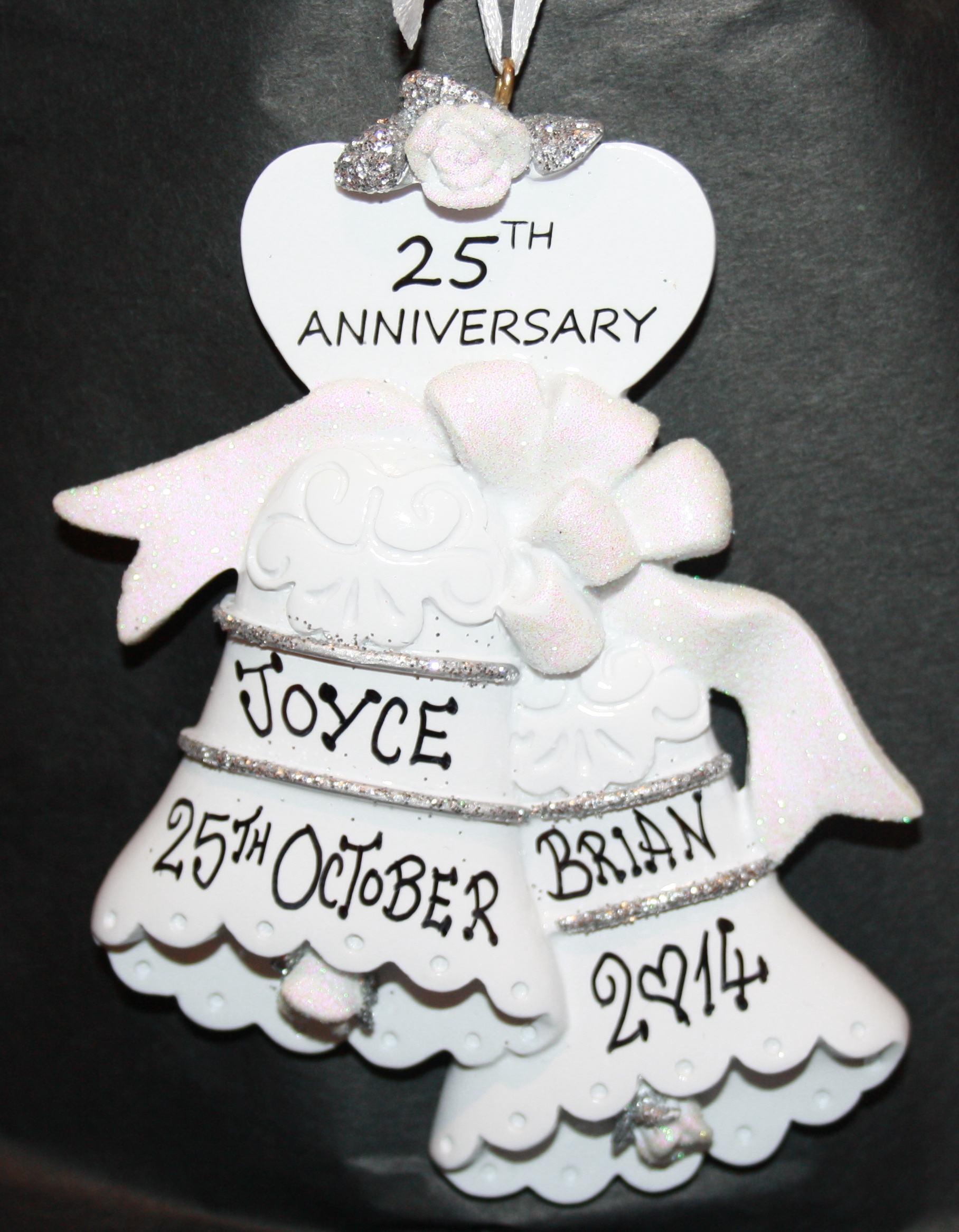 25th anniversary bells delightful decorations for 25 year anniversary decoration ideas